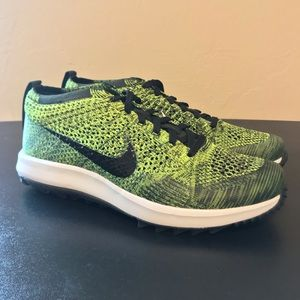 NEW Nike Flyknit Racer Golf Shoes